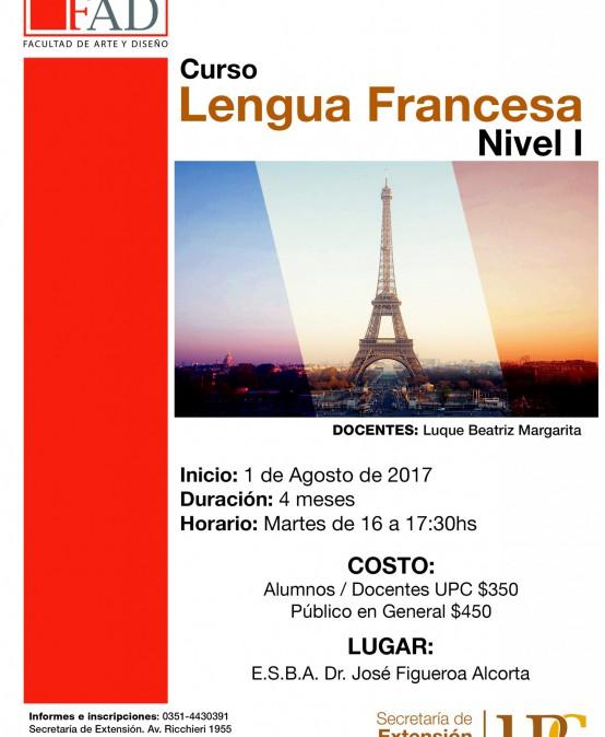 Lengua Francesa – Nivel I