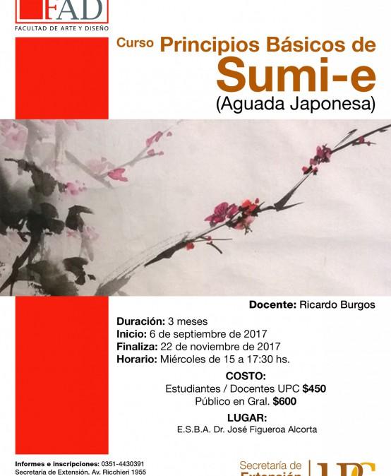 Principios Básicos de Sumi-e (Aguada Japonesa)