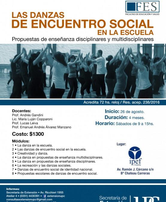 Las Danzas de Encuentro Social como Práctica Educativa