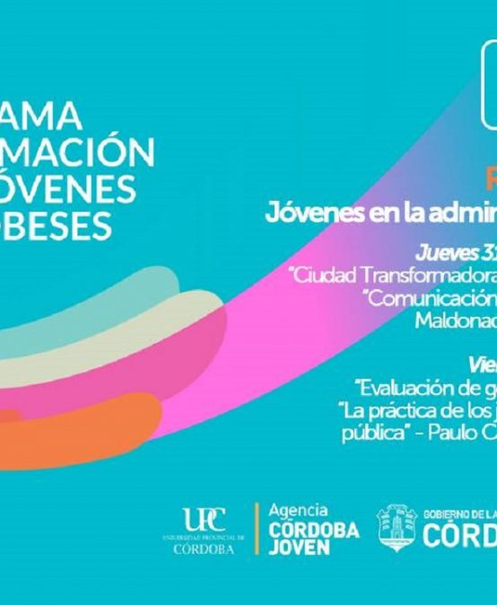 """Seminarios programa """"Compromiso social y político de jóvenes cordobeses"""""""