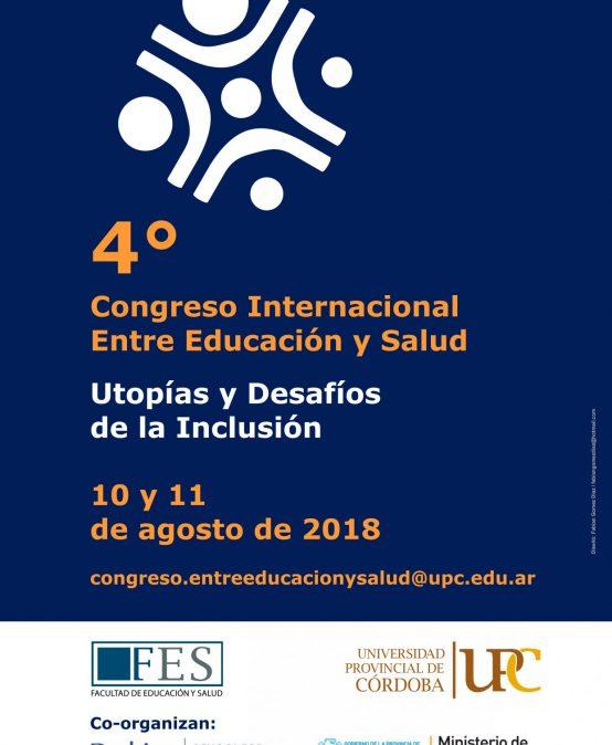 Se viene el 4° Congreso entre Educación y Salud