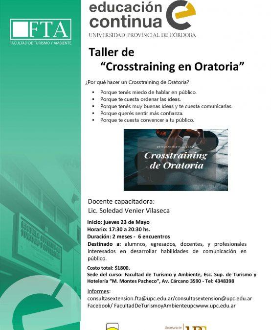 Curso: Crosstraining en Oratoria