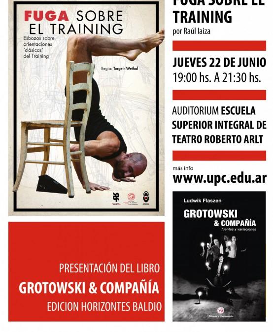 """Presentación del libro """"Grotowski & Compañía"""" en la UPC"""