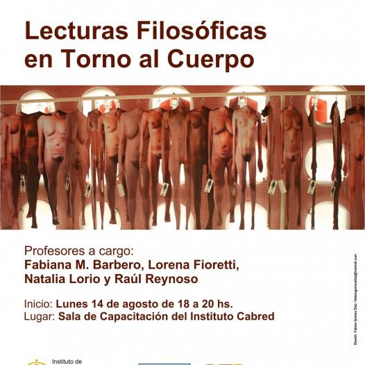 Seminario de Lecturas filosóficas en torno al cuerpo