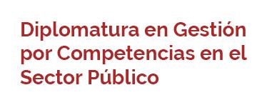 Diplomatura en Gestión por Competencias en el Sector Público - Segunda Cohorte