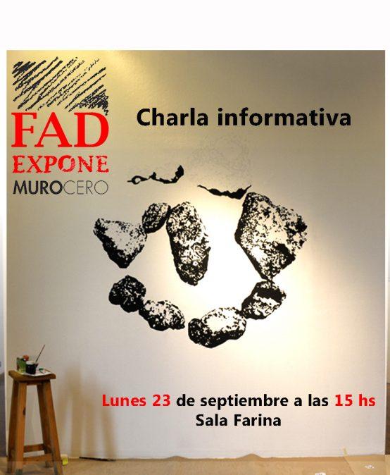 Charla Informativa sobre la Convocatoria FAD Expone