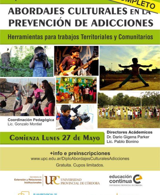Diplomatura: Abordajes Culturales en la Prevención de la Adicciones