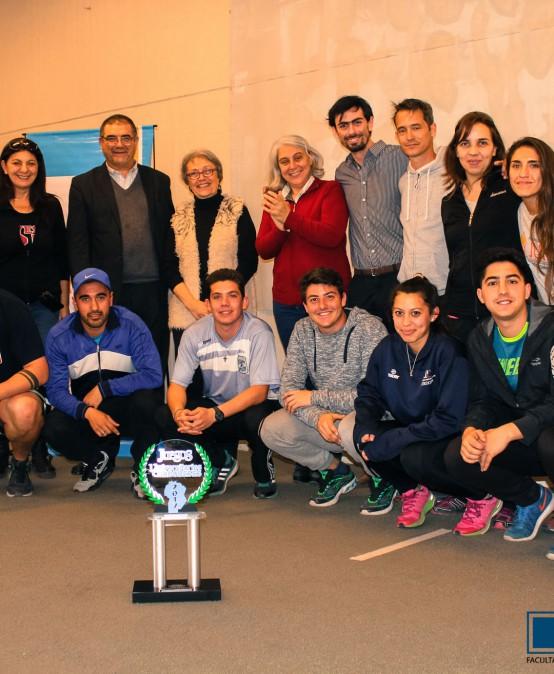 Reconocimiento a los estudiantes que participaron en los Juegos Universitarios Cordobeses