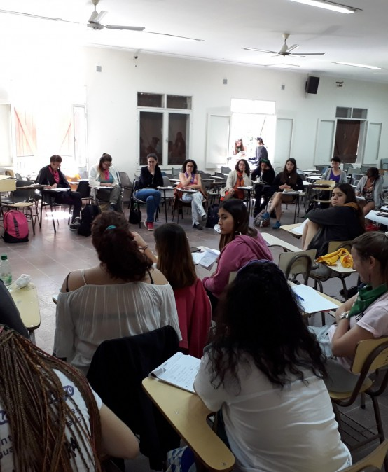 La UPC presente en el 32° Encuentro Nacional de Mujeres