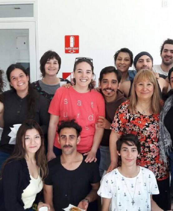 Estudiantes en el 1° Encuentro regional de Teatro Universitario