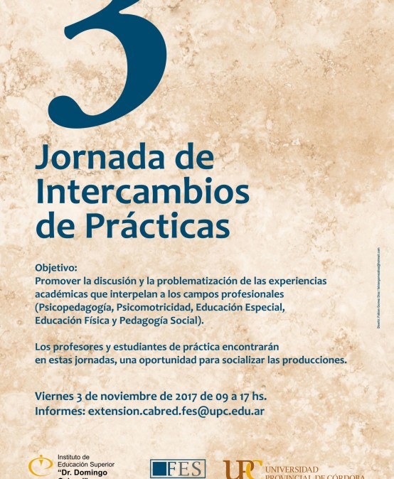 3ra Jornada de Intercambios de Prácticas 2017
