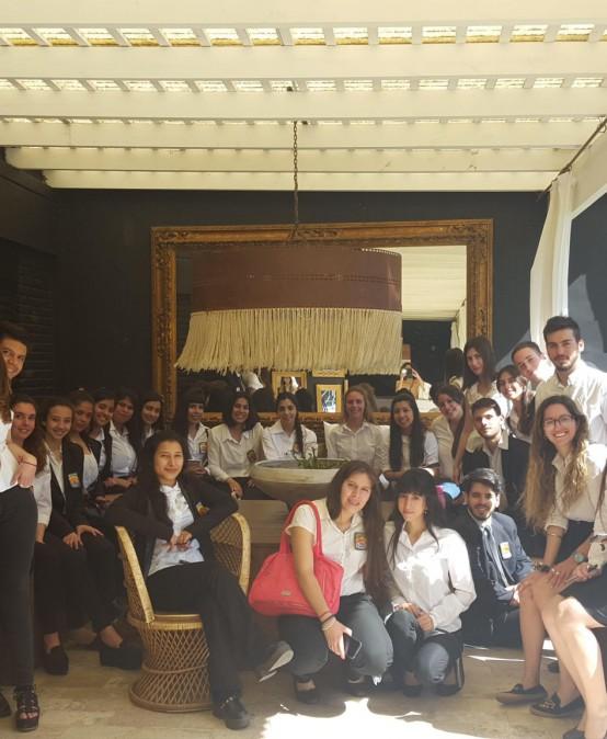 Visita de estudiantes a Empresas de Servicios de Alojamiento