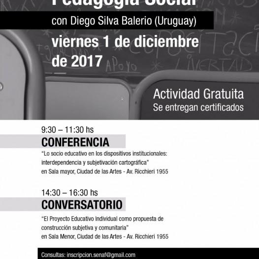 Jornada: Reflexiones desde la Pedagogía Social