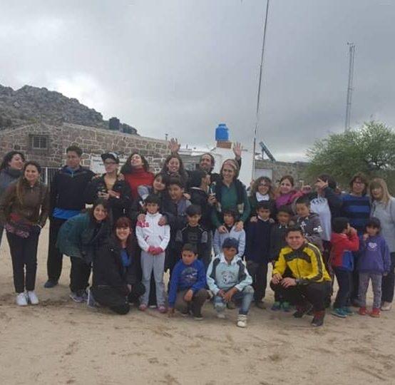 Taller de Títeres en la Pampa de Achala