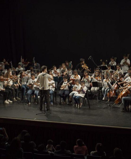 A sala llena se llevó a cabo Encuentro Interprovincial de Orquestas y Bandas Infantiles y Juveniles