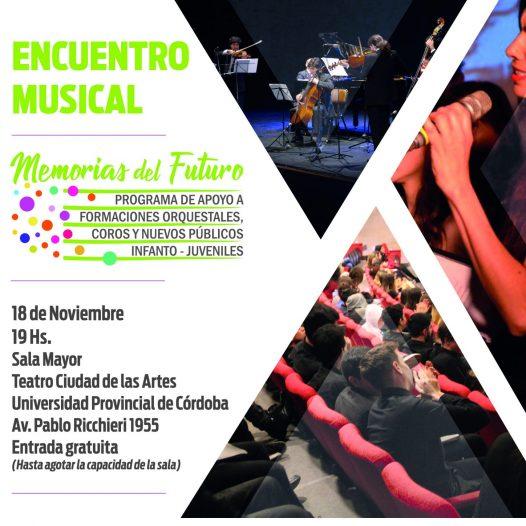 Encuentro Musical: Memorias del Futuro