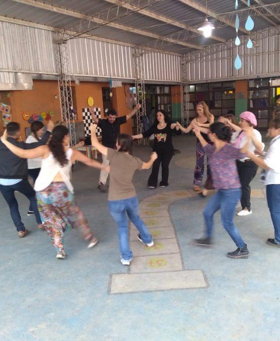 La UPC participó en la peña de la escuela Bernardino Rivadavia
