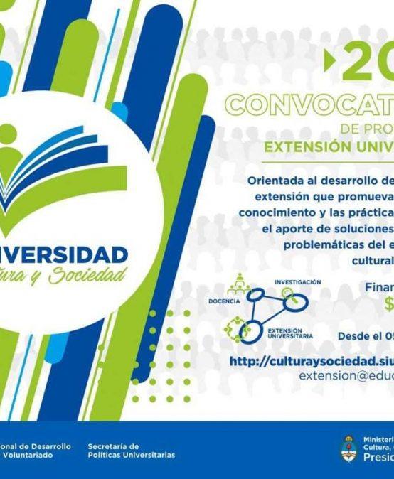 Convocatoria de Proyectos de Extensión Universitaria (SPU)