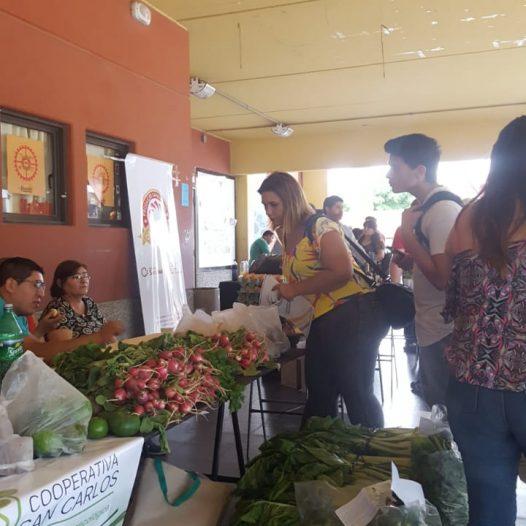 Feria de Agricultura Familiar en la UPC
