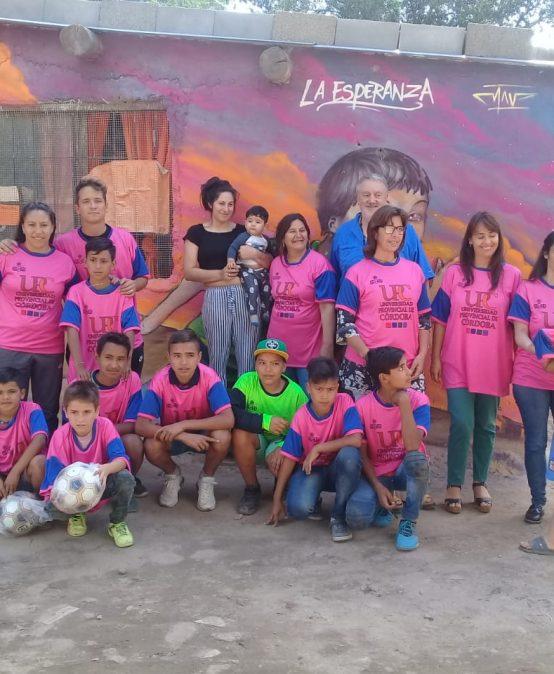 """La UPC visitó la Cooperativa de Carreros """"La Esperanza"""" en Villa La Lonja"""