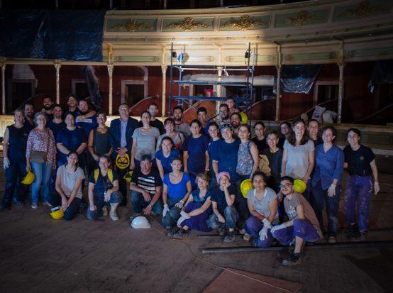 Participación de la UPC en la restauración del Teatro San Martin