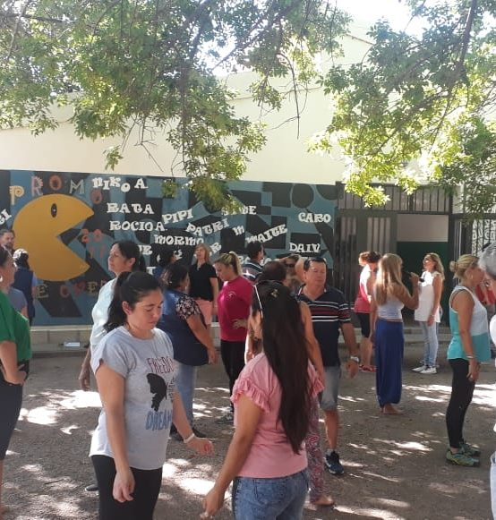 """La FEF realizó un taller sobre """"Prácticas corporales e inclusión"""" en Villa de María de Río Seco"""