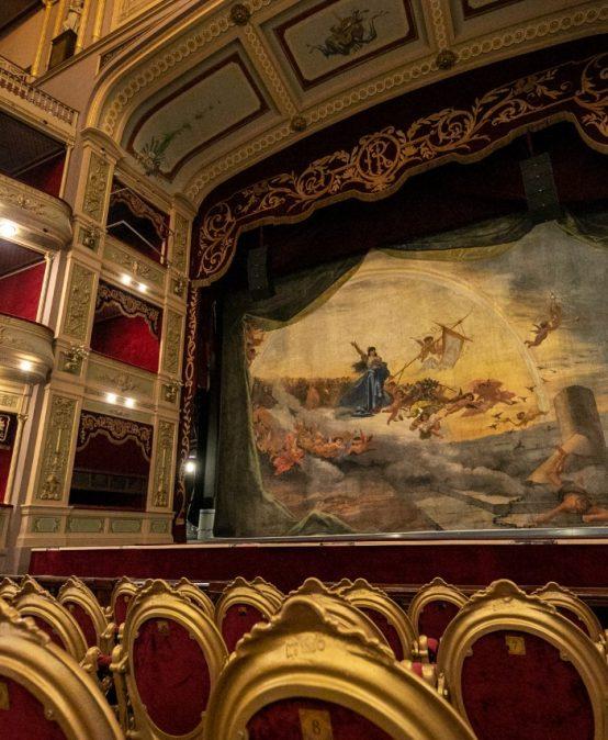 Inauguración de la restauración del Teatro del Libertador San Martín
