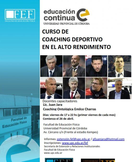 Coaching Deportivo en el Alto Rendimiento