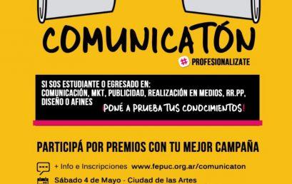 Sumate a la jornada de práctica intensiva Comunicatón