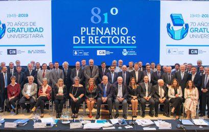 Asumieron las nuevas autoridades del Consejo Interuniversitario Nacional