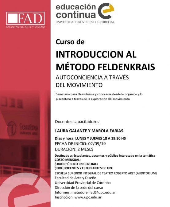 Introduccion al Método Feldenkrais (Autoconciencia a través del Movimiento).