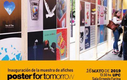 Hoy inaugura la muestra de afiches: A Planet for Tomorrow