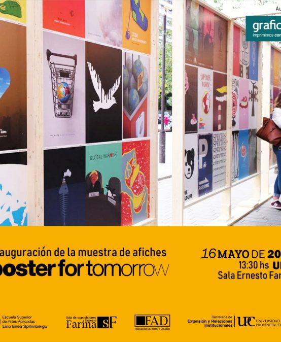 ¡No te pierdas la muestra de afiches: A Planet for Tomorrow!