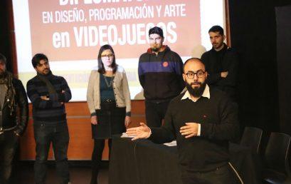 Gran inicio de la Diplomatura en Videojuegos