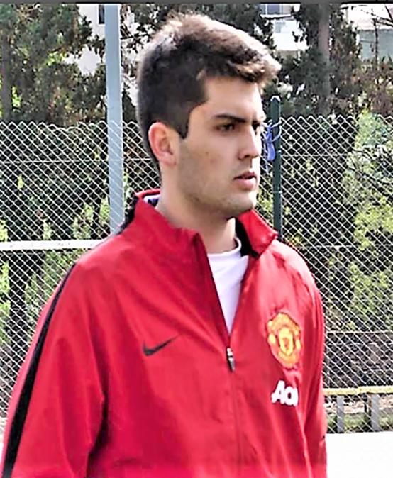 Nicolás Robins participará nuevamente en la Selección Argentina Universitaria de Voley