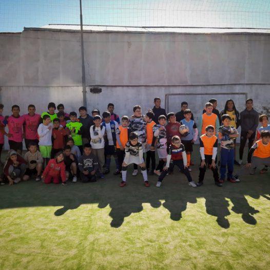 Taller de Futbol de Villa La lonja