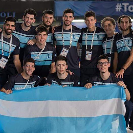 Estudiantes de la UPC en la Universiada de Nápoles 2019