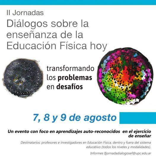 Presentá tu resumen para participar en las II Jornadas de Diálogos sobre la enseñanza de la Educación Física hoy