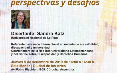 Conversatorio: La discapacidad en las universidades: perspectivas y desafíos