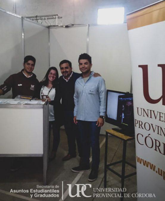 La UPC estuvo presente en la Expo Carreras: Villa Dolores 2020