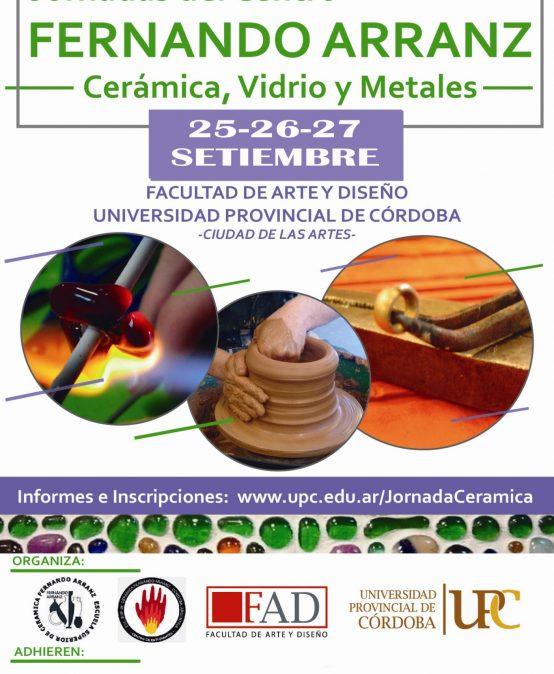 Jornadas del Centro Fernando Arranz: Cerámica, Vidrio y Metales