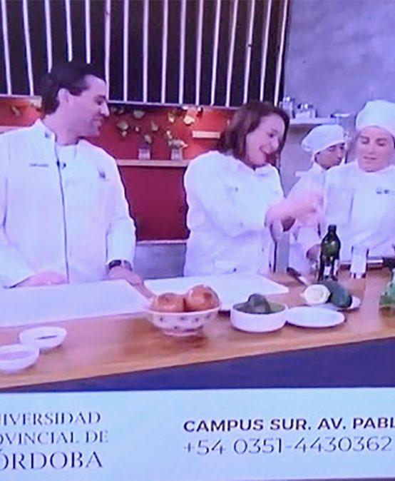 Estudiantes llevan propuestas de picnics primaverales a la televisión abierta