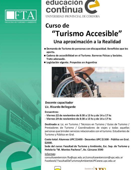 Seminario-Taller: Turismo Accesible, una aproximación a la realidad
