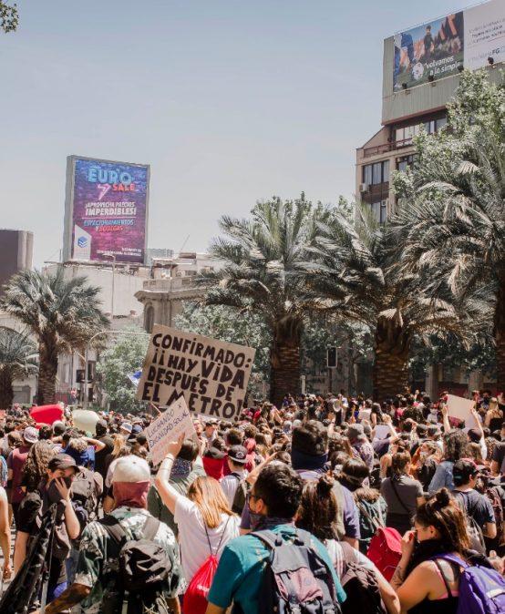 Repudio a la brutal represión en Chile