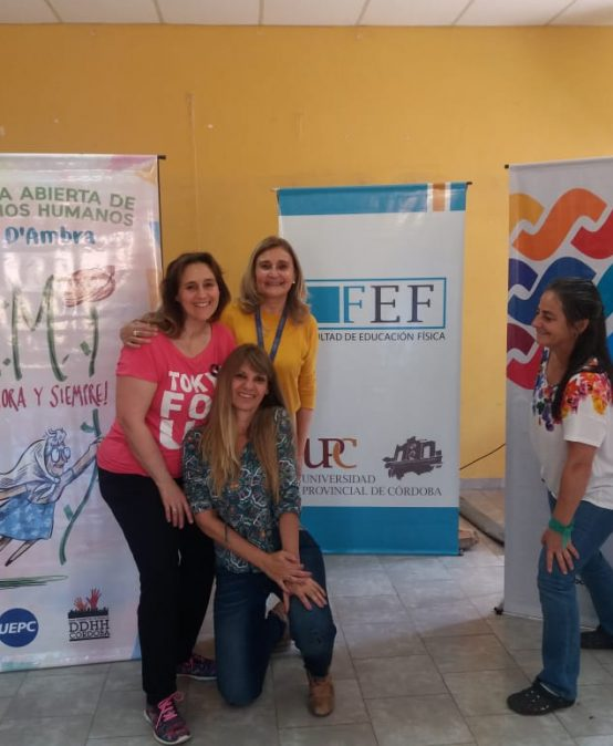 La FEF participó de la Jornada de educación, derechos e identidad en Villa de María de Río Seco