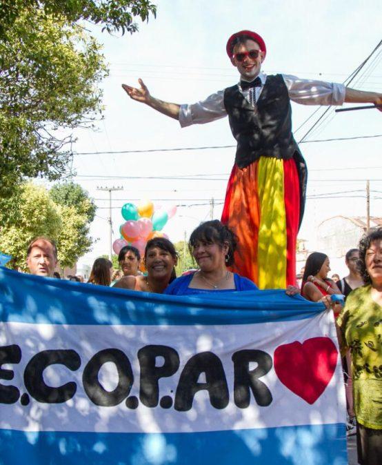 El Taller de Danza y Percusión de la UPC participó en el Desfile Por el Buen Trato y en la Noche de los Museos