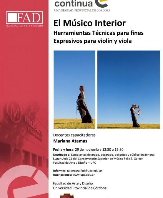 El Músico Interior: Herramientas Técnicas para fines Expresivos para violín y viola
