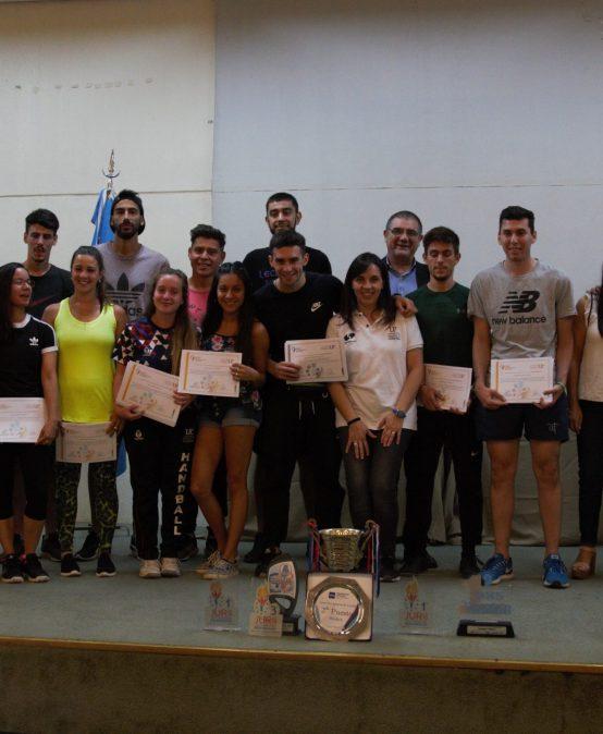 Reconocimiento a estudiantes deportistas de la UPC por su desempeño en 2019