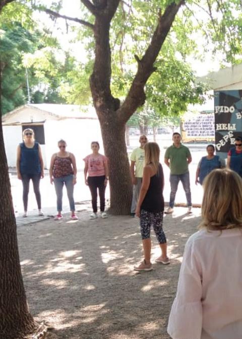 La FEF participó en el taller de actualización docente ¿En dónde estamos?: Reflejando-nos