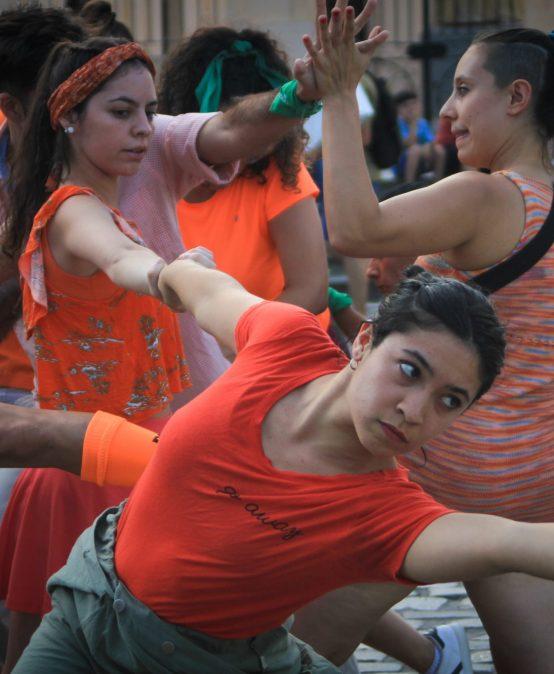La UPC cerró los 16 días de activismo contra la Violencia de Género con una intervención artística